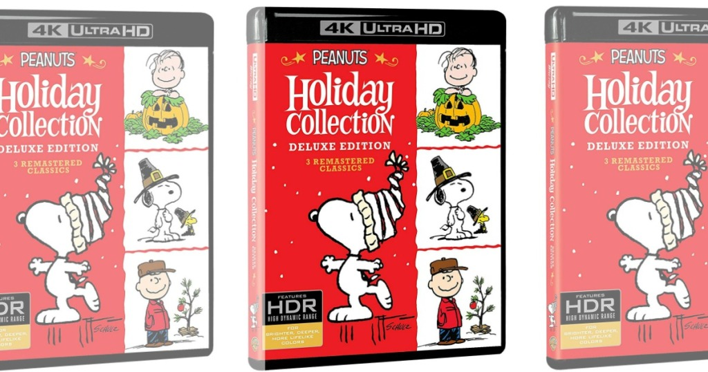 snoopy on the front of a movie box