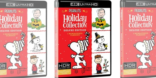 Peanuts Holiday Collection 4K Ultra HD + Blu-ray Only $19.99 at Amazon