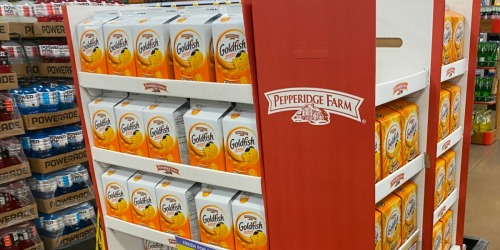 Kroger 2-Day Deals   HUGE Pepperidge Farm Goldfish Containers Only $3.99 & More