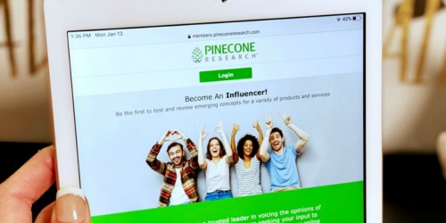 Earn $3 for Completing Simple Surveys w/ Pinecone Research