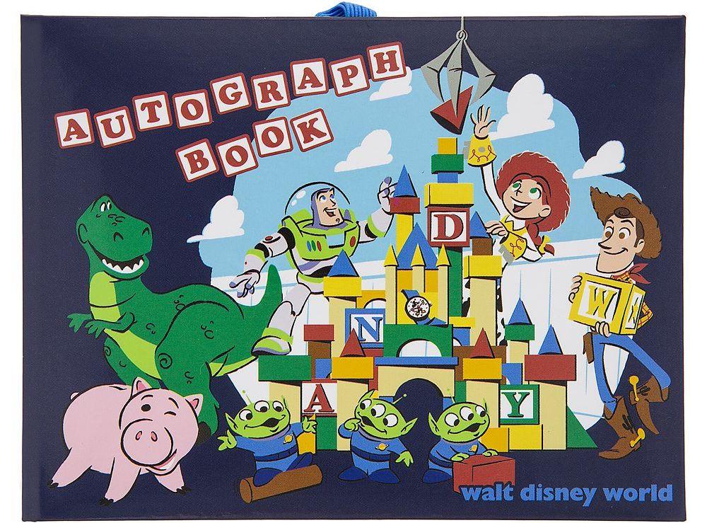 Pixar Autograph Book