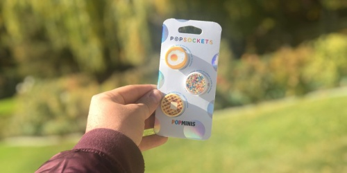 PopSocket PopMinis 3-Pack as Low as $5 Shipped (Just $1.67 Each)