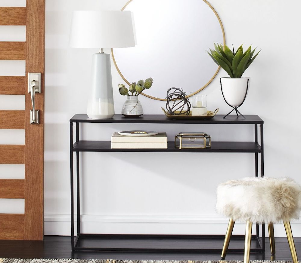 Project 62 Glasgow Metal Console Table