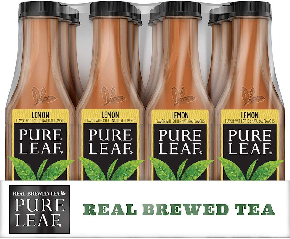 Pure Leaf Lemon Iced Tea in a pack