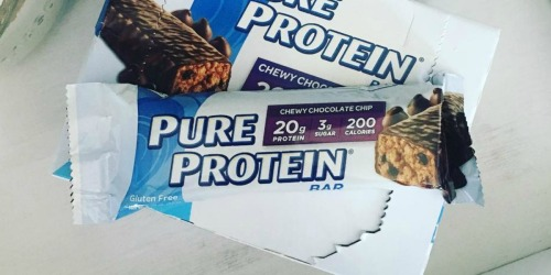 Pure Protein Bars Variety 18-Pack Only $10.67 Shipped | Just 59¢ Per Bar