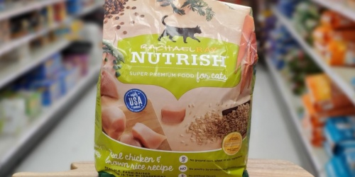 Rachael Ray Nutrish Super Premium Dry Cat Food as Low as $6 Shipped (Regularly $13)