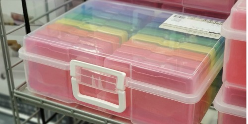 Photo Storage Case Only $12.59 on Michaels.com (Regularly $42) | Great for Organizing Crafts, Games & More!