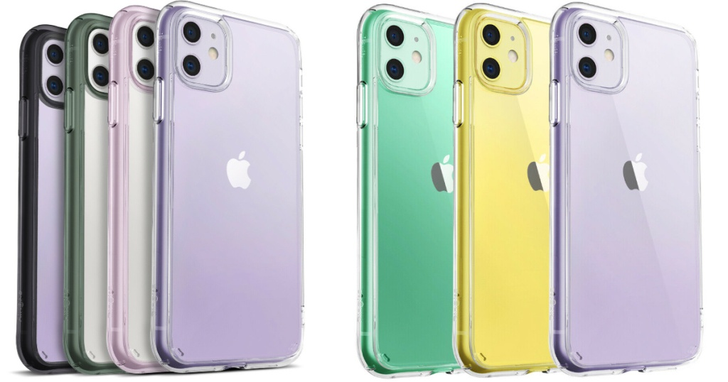pastel colored apple phone cases