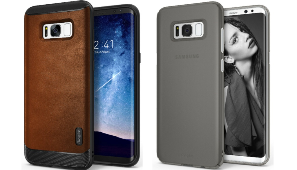 brown and gray phone cases for samsung phones