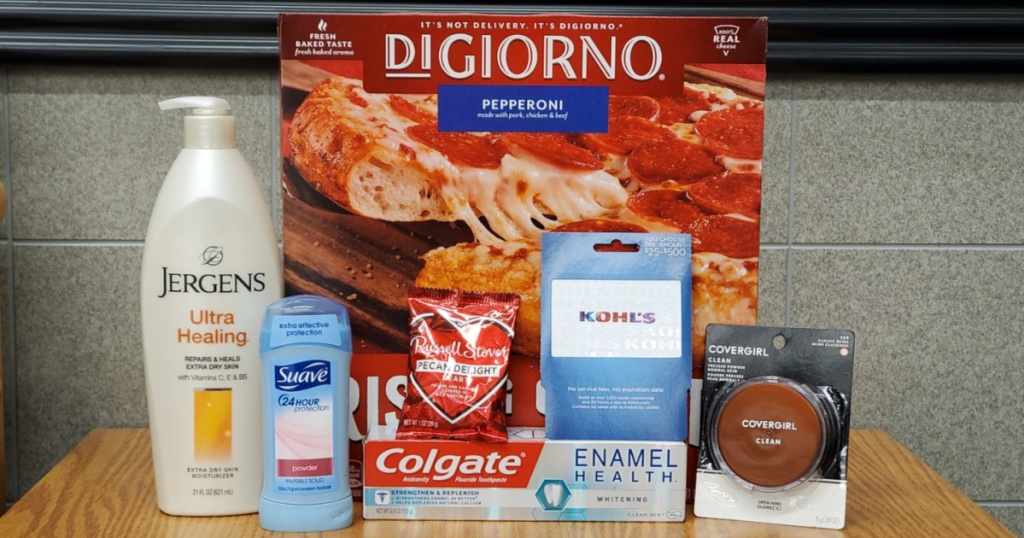 Jergens, Suave, Digiorno and Kohl's Gift Cards Rite Aid