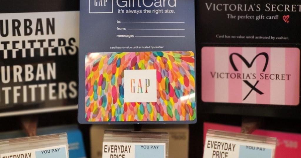 Rite Aid Weekly Ad Match-Ups Gap Gift Card