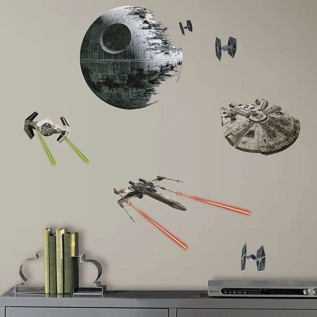 Star Wars themed stickers