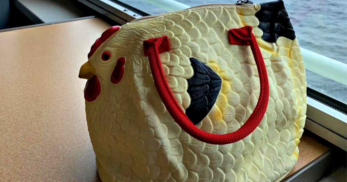 Rubber Chicken Purse