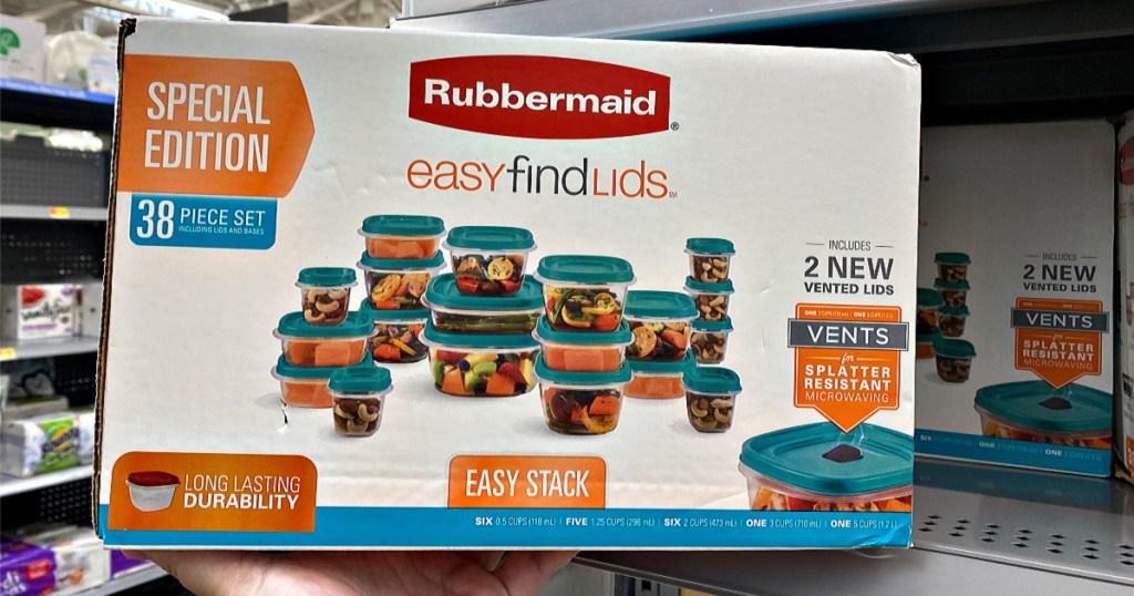 Rubbermaid 38-Piece Easy Find Lids