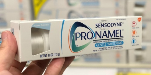 65% Off Sensodyne Whitening Toothpaste on Amazon + More Oral Care Deals