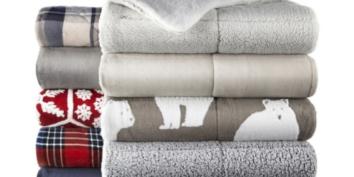 Sherpa Reversible Throws Just $10.49 at JCPenney (Regularly $42)