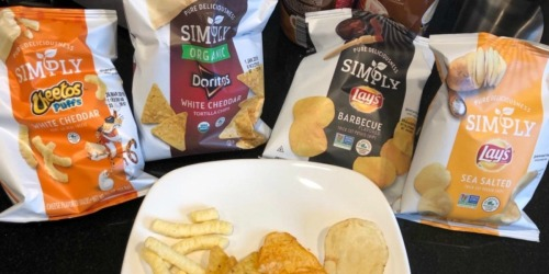 Simply Organic Chips Variety Pack 36-Count Only $8.89 Shipped at Amazon | Just 25¢ Each