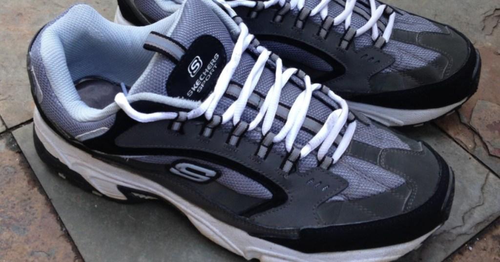 Skechers men's wide width shoes