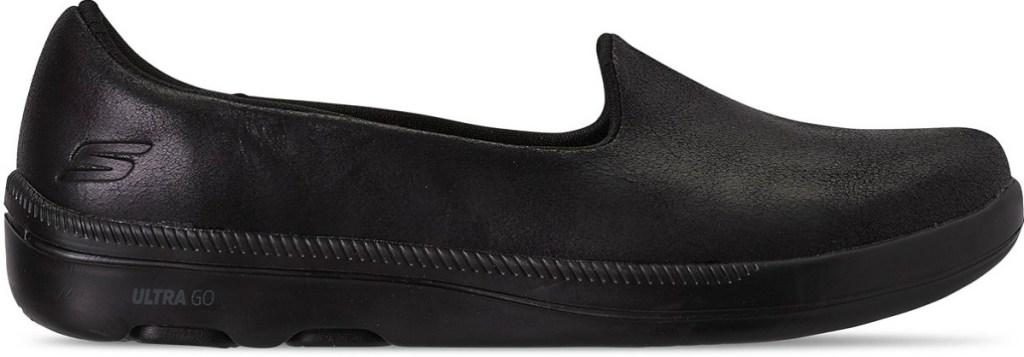 Women's slip on shoes in black