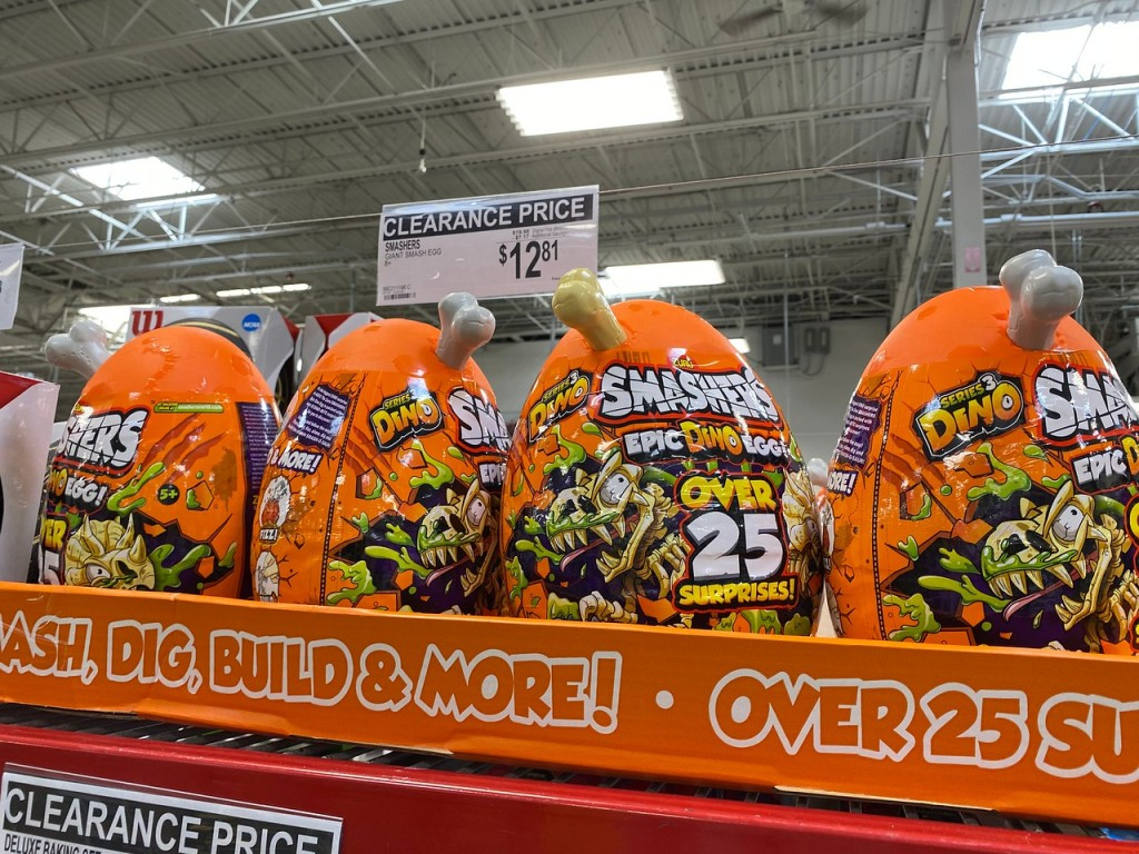 Smashers Giant Dino Egg at Sam's Club