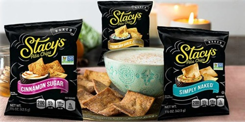 Stacy's Pita Chips 24-Pack Only $10.49 Shipped on Amazon | Just 44¢ Per Bag