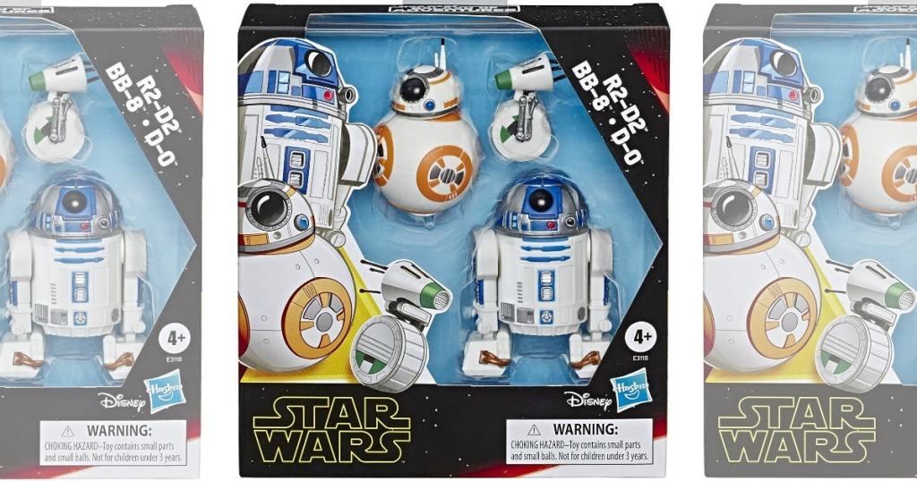 Star Wars Droid figure packs