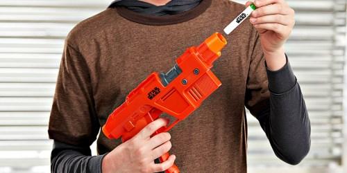 NERF Star Wars Blaster w/ Glow-in-the-Dark Darts Only $9.99 on Amazon (Regularly $25)