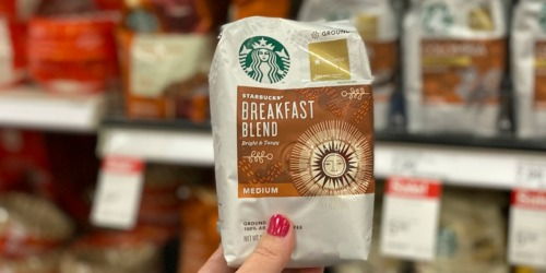 Up to 45% Off Starbucks Bagged Coffee & K-Cups at Target (Just Use Your Phone)