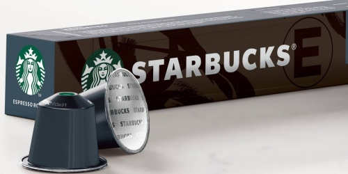 70 Starbucks Nespresso Espresso Roast Coffee Pods Only $43.48 After Target Gift Card