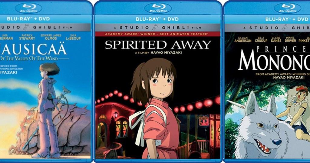 Studio Ghibli Blu-ray Movies at Amazon