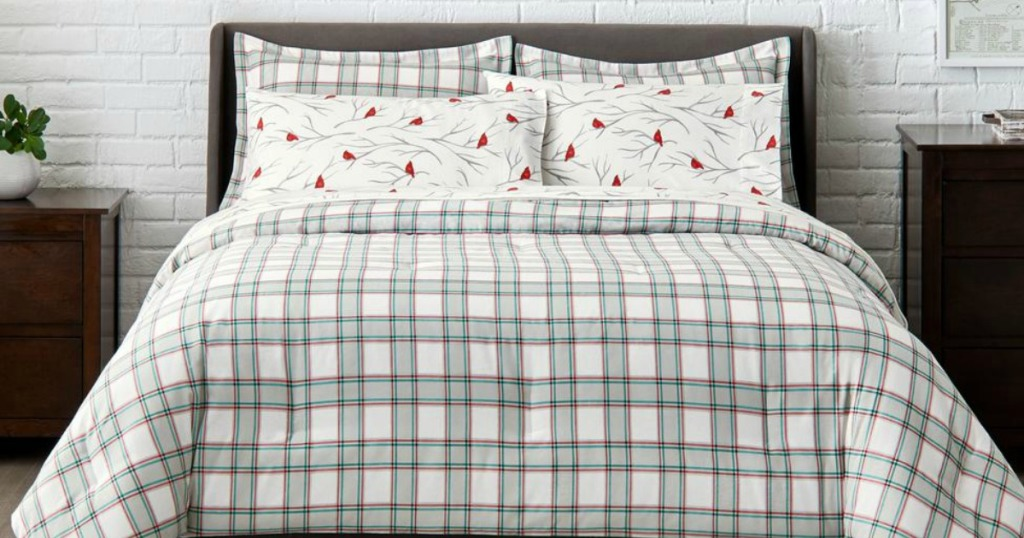 StyleWell Comforter on full bed