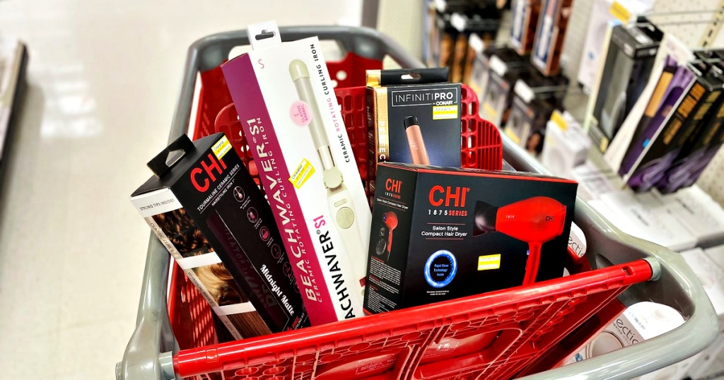 Styling Tools Clearance in Target shopping cart
