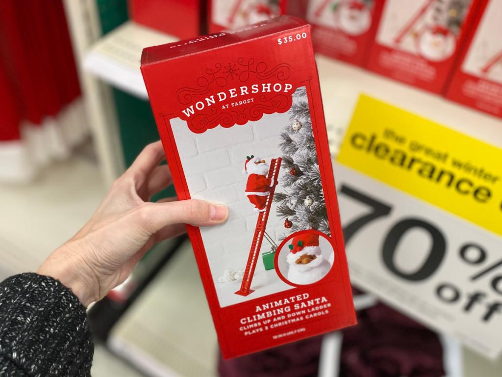 Target animated Wondershop Santa