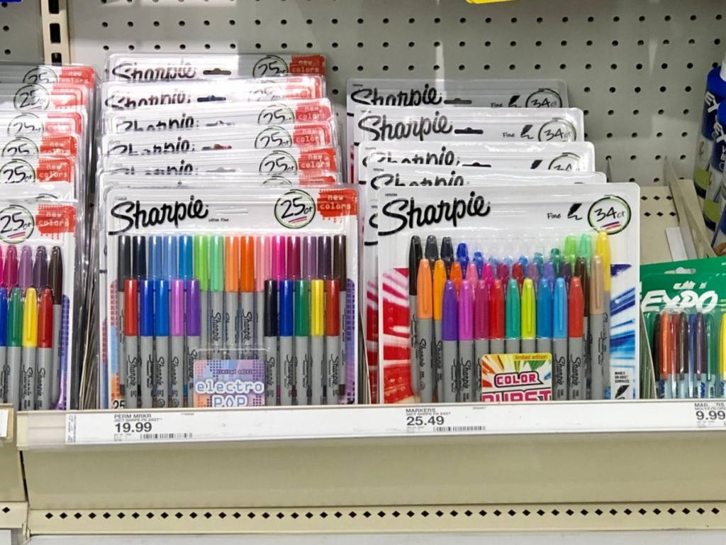 BIC Permanent Markers at Target