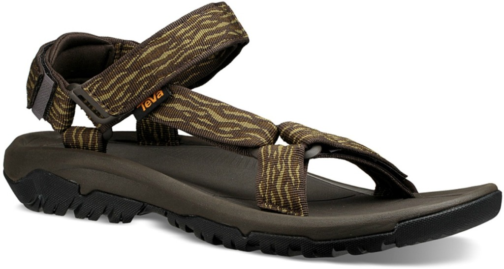 Single brown suede men's sandal