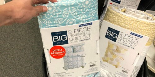 The Big One Reversible Quilt Sets as Low as $17.84 Shipped for Kohl's Cardholders (Regularly $100)