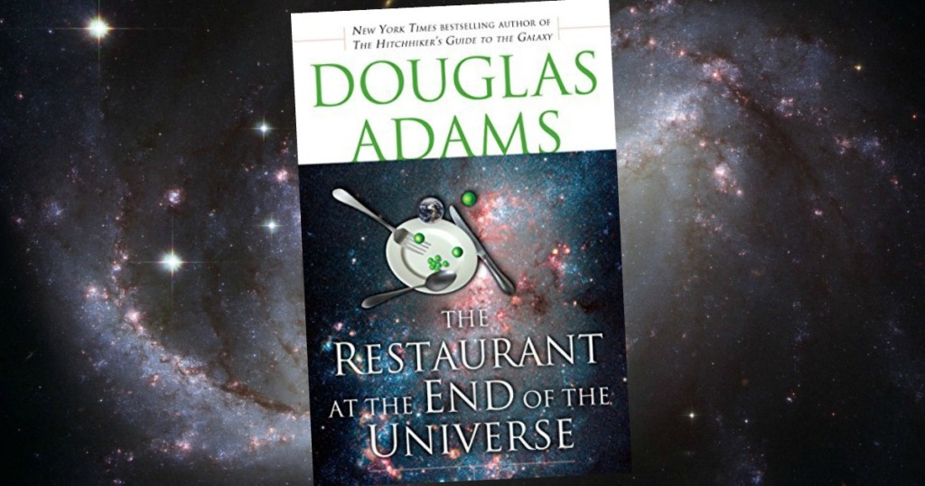 The Restaurant at the End of the Universe Hitchhiker's Guide to the Galaxy Book 2 Kindle Edition eBook cover