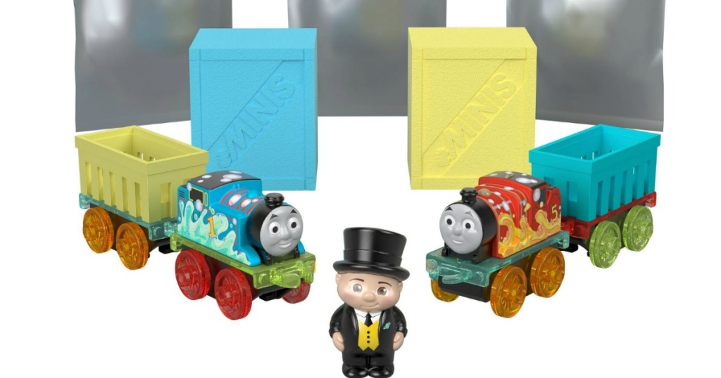 Thomas & Friends Fizz Pack with Sir Tottenham figure