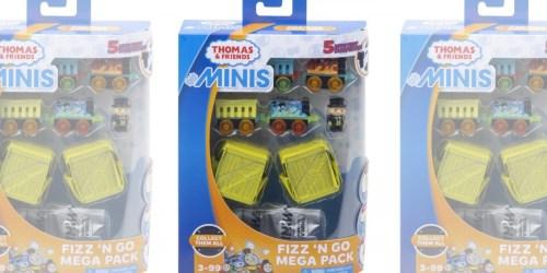Thomas & Friends MINIS Fizz 'n Go Mega Pack w/ 5 Surprises Only $5.99 at Walmart.com (Regularly $15)