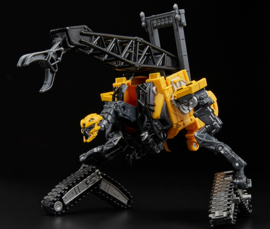black and yellow transformer