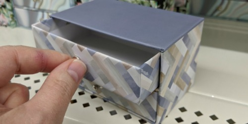 Paper Trinket Boxes Just $1 at Dollar Tree | Great Storage Idea for Barbie Accessories