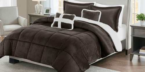 Mink/Sherpa Comforter Set ANY Size as Low as $28.53 Shipped at Kohl's (Regularly $160)