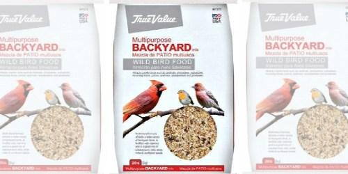True Value Wild Bird Food 20-Pound Bag Only $4.99 (Regularly $9)