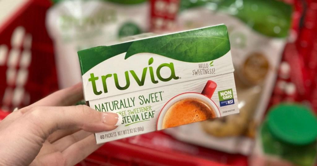 Truvia Stevia Sweetener 40-Count box
