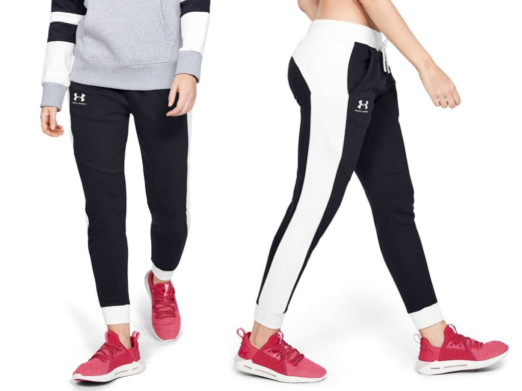 Under Armour Women's Rival Fleece Graphic Novelty Pants