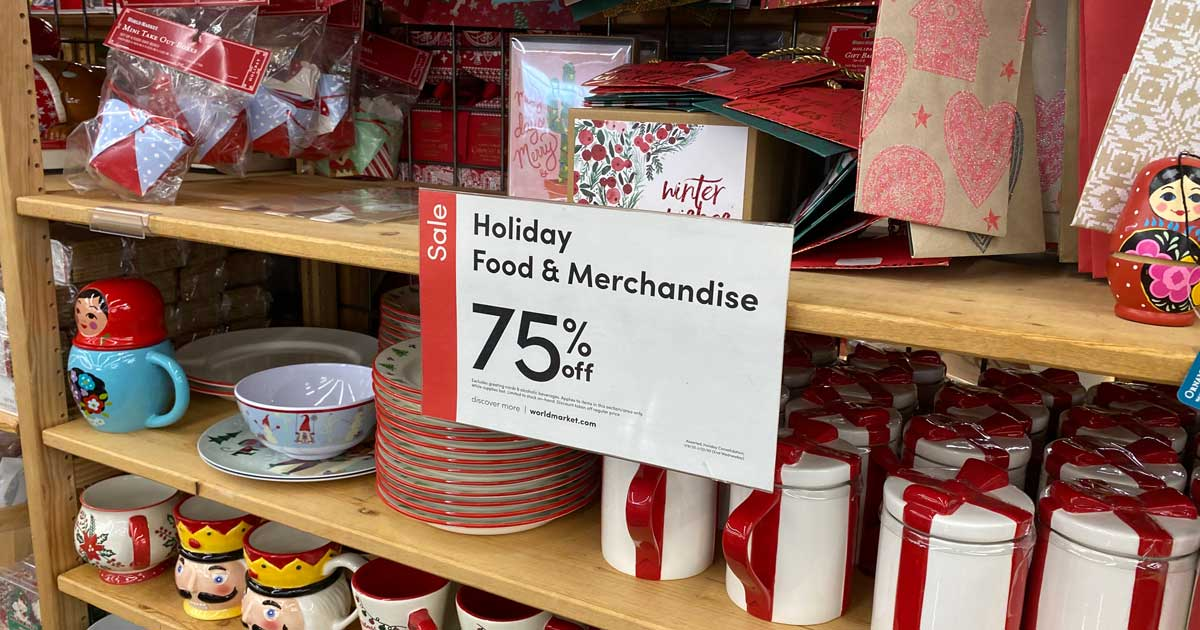World Market Christmas Clearance 2020 Over 75% Off World Market Christmas Clearance | Ornaments, Wine