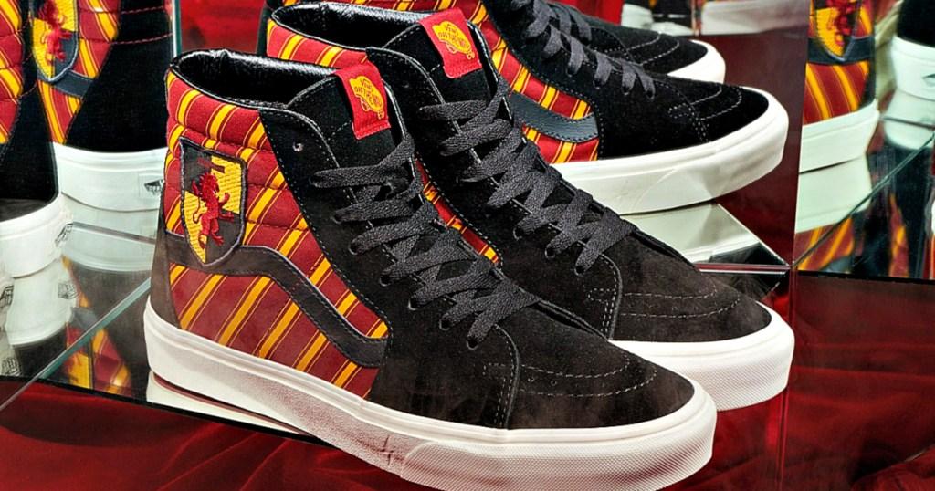 VANS x Harry Potter Gryffindor Sk8-Hi Shoes