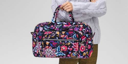 Up to 80% Off Vera Bradley Totes, Weekender Bags, Backpacks & More + FREE Shipping