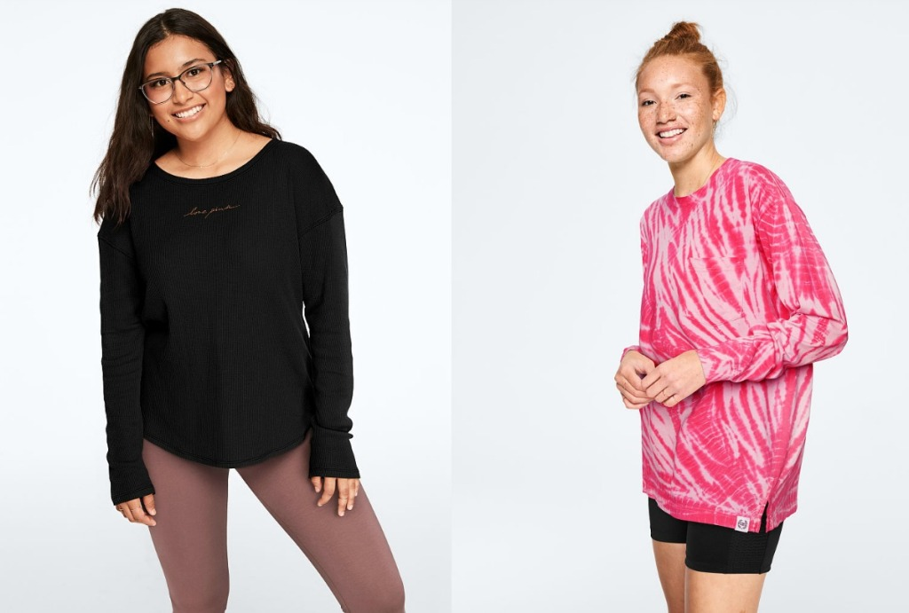 Victoria's Secret Ruched or Sport Tee
