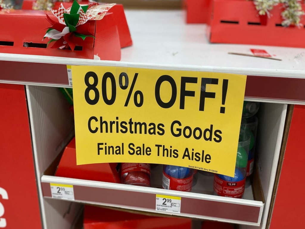 Meijer 90 Off Christmas 2021 How To Get 90 Off During After Christmas Clearance Sales Hip2save
